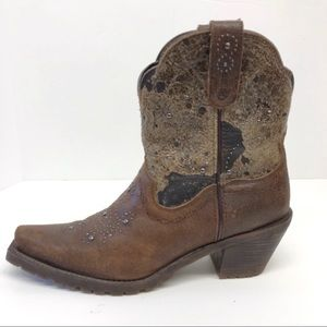 Ariat Unbridled Shali Western Studded Boots 8.5B
